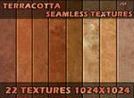 Terracotta seamless textures