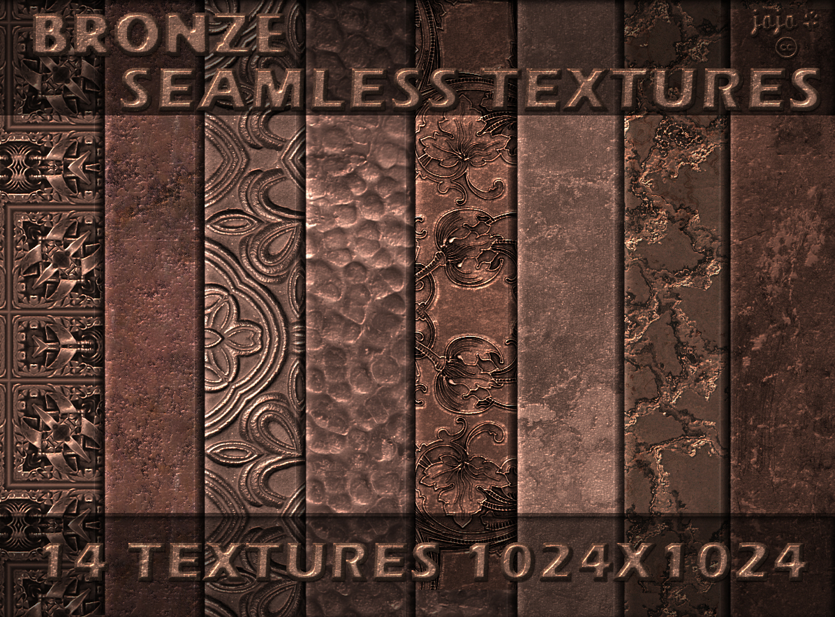 Bronze Seamless Textures By Jojo Ojoj On Deviantart
