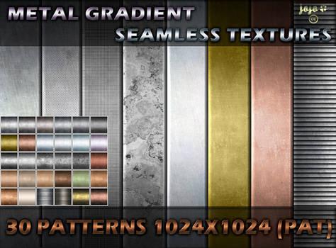 Metal gradient seamless textures (PAT)
