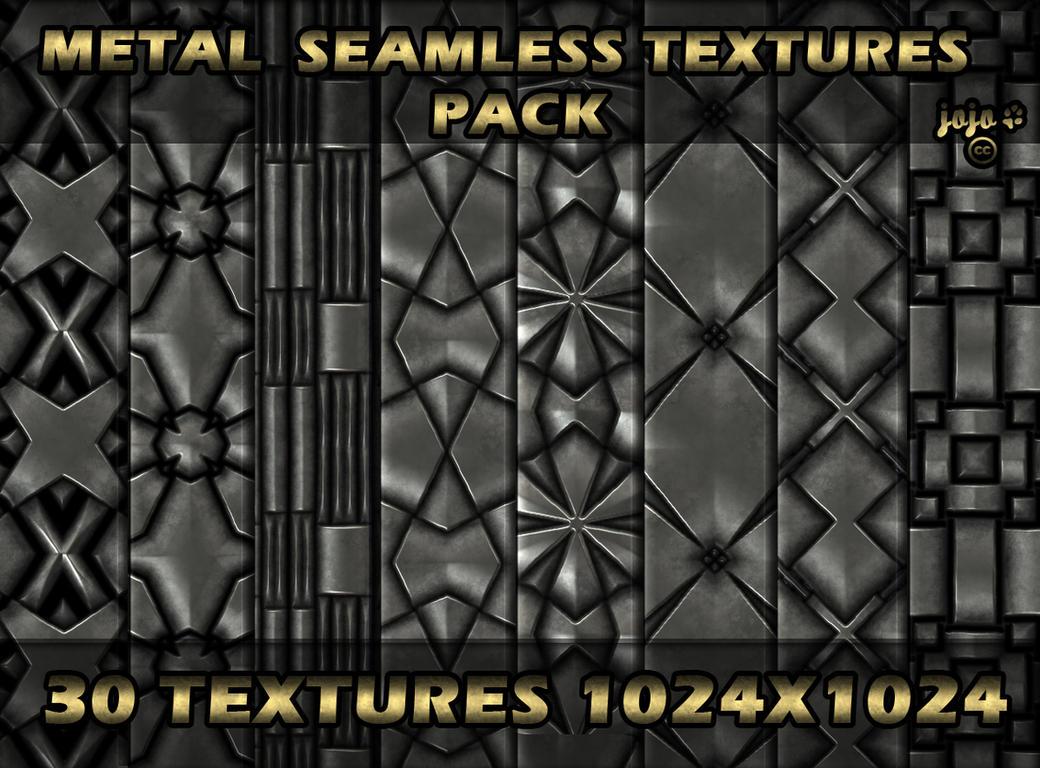 Metal seamless texture pack by jojo-ojoj