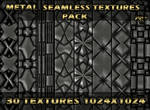Metal seamless texture pack