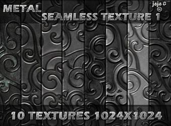 Metal seamless texture pack 1 by jojo-ojoj
