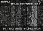 Metal seamless texture pack 1