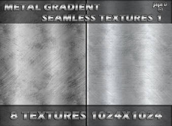 Metal gradient seamless textures 1 by jojo-ojoj