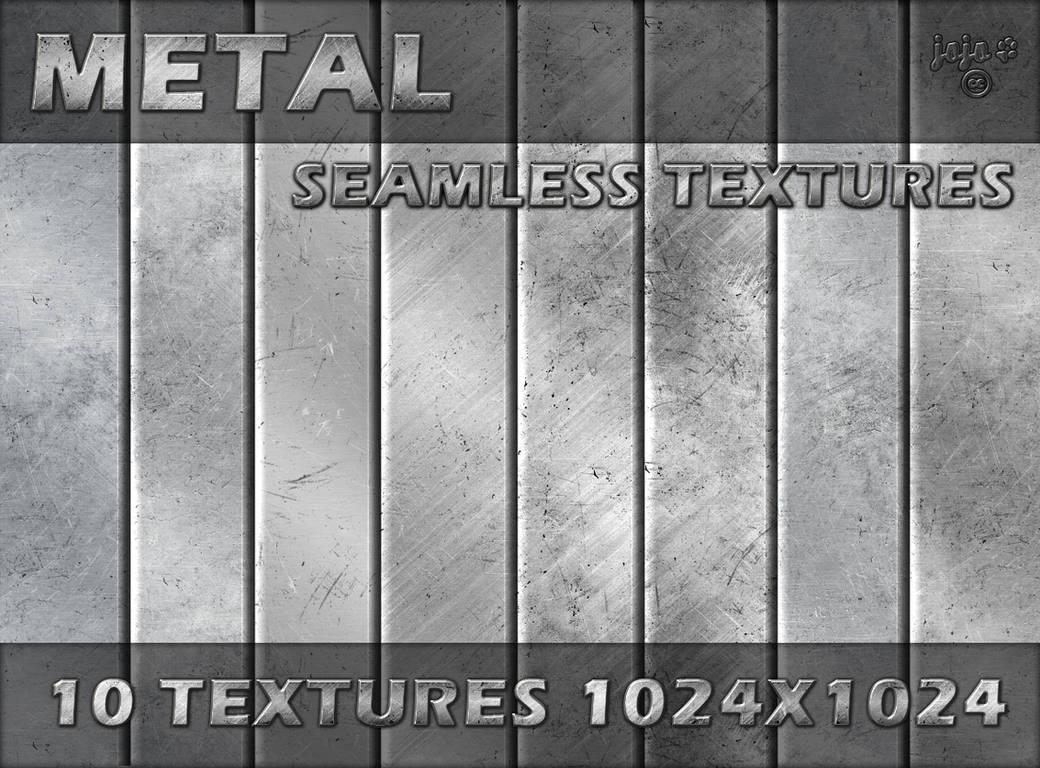 Metal seamless textures by jojo-ojoj