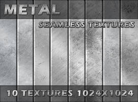 Metal seamless textures by jojo-ojoj
