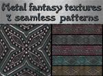 Metal fantasy textures