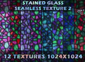 Stained glass seamless texture 2 by jojo-ojoj