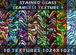 Stained glass seamless texture 4