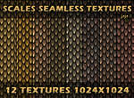 Scales seamless textures