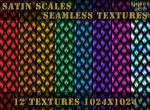 Satin scales seamless textures