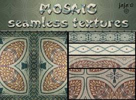 Mosaic seamless textures by jojo-ojoj