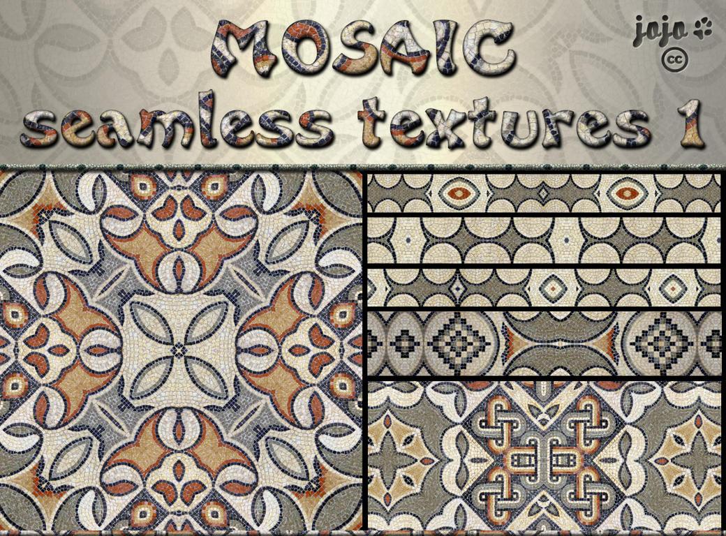 Mosaic seamless texture 1 by jojo-ojoj