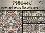 Mosaic seamless texture 1