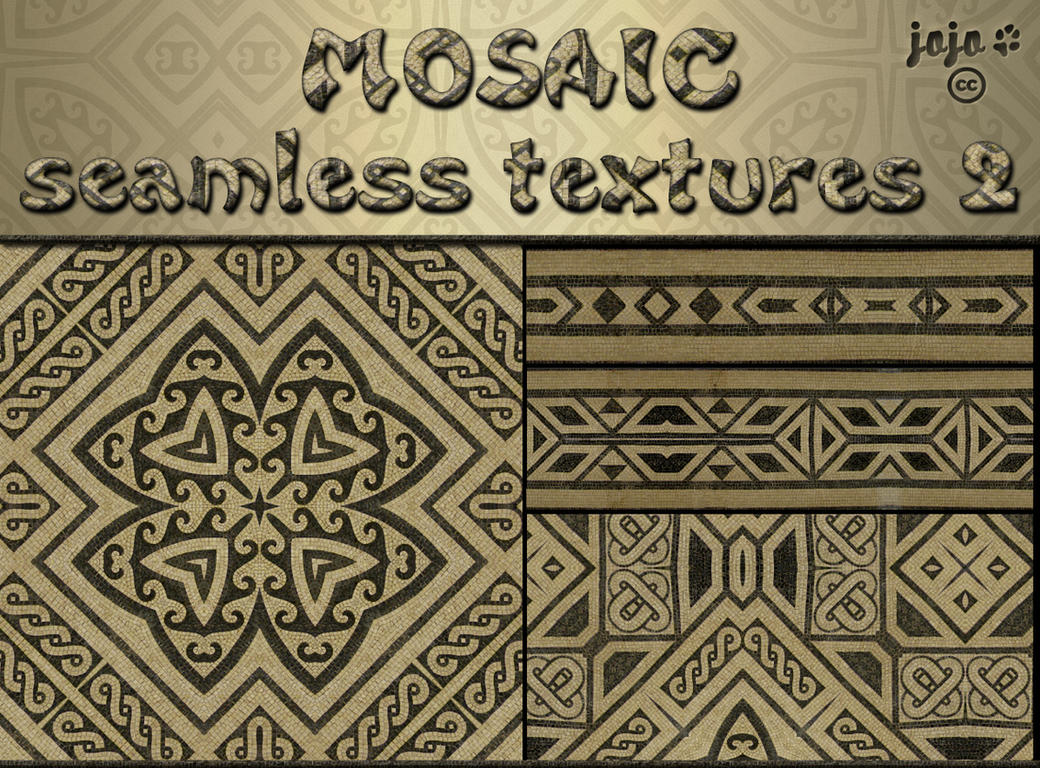 Mosaic seamless texture 2 by jojo-ojoj