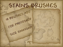 Stains brushes by jojo-ojoj