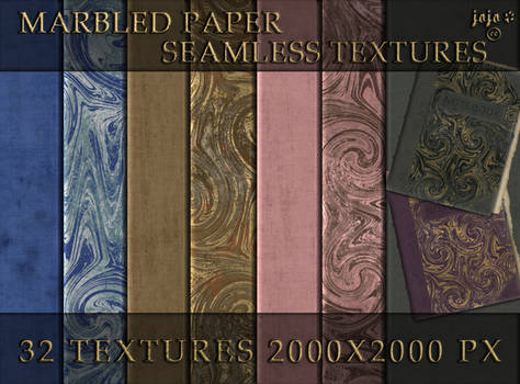 Marbled paper seamless textures
