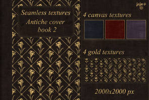 Antiche cover book Seamless textures 2