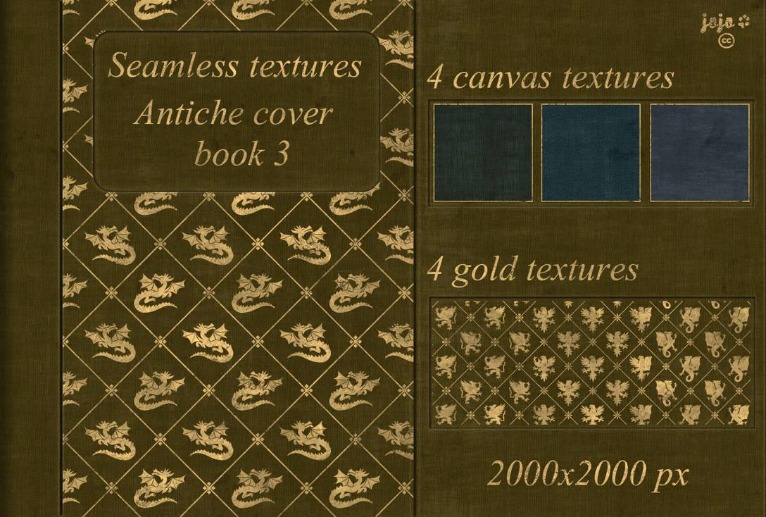 Antiche cover book Seamless textures 3 by jojo-ojoj