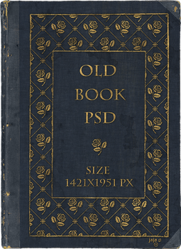 Old book PSD