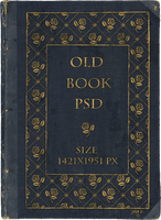 Old book PSD by jojo-ojoj