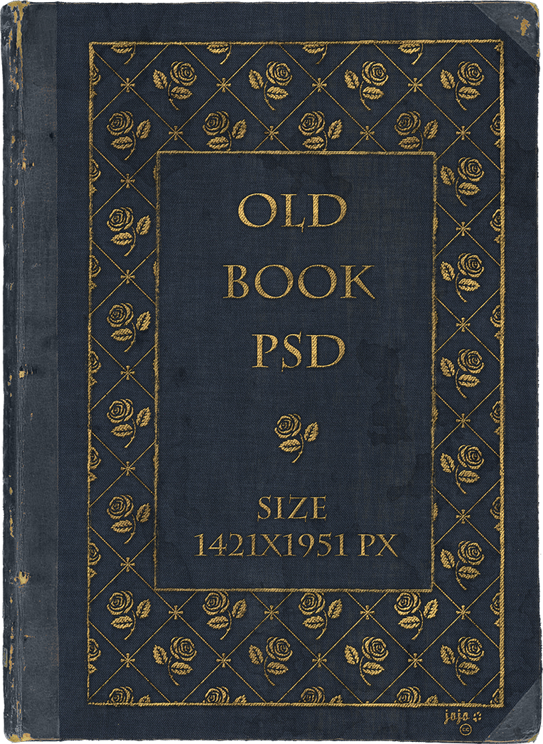 Old book PSD by jojo-ojoj on DeviantArt