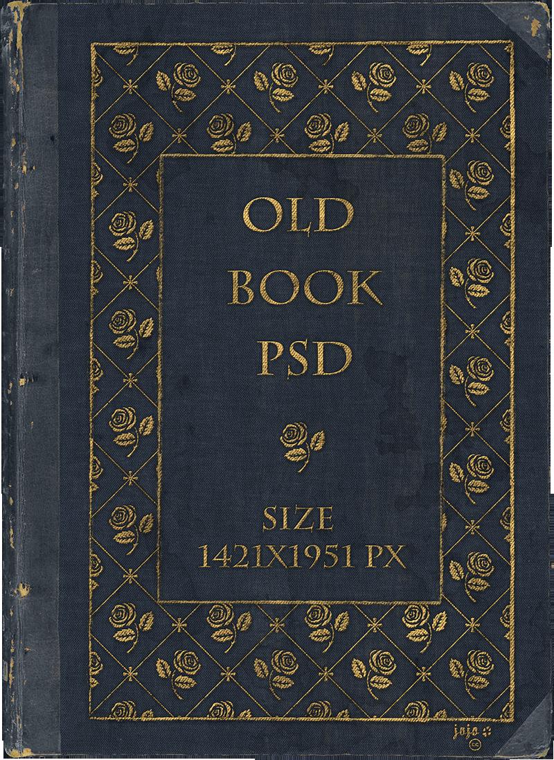Vintage Book Cover Art : Old book psd by jojo ojoj on deviantart