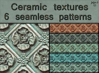 Ceramic seamless textures