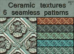 Ceramic seamless textures
