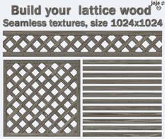 Build your  lattice wood by jojo-ojoj