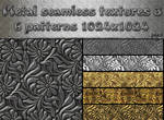 Metal seamless textures pack 3