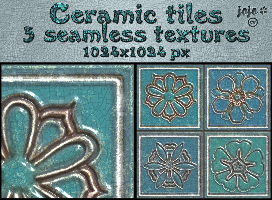 Ceramic seamless textures 1 by jojo-ojoj