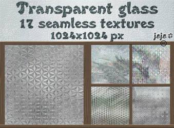 Transparent glass seamless textures by jojo-ojoj