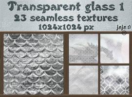 Transparent glass seamless textures 1 by jojo-ojoj