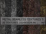 Metal seamless textures pack 5