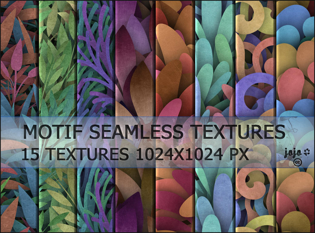 Motif seamless textures by jojo-ojoj