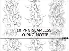 10 PNG seamless by jojo-ojoj