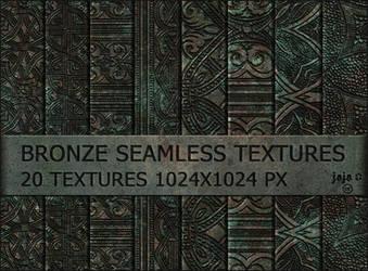 Bronze seamless textures