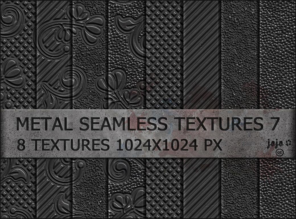 Metal seamless textures 7 by jojo-ojoj