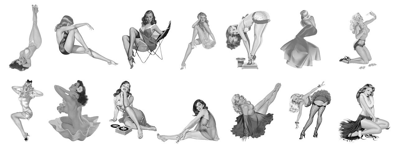 that s just me how to draw pin ups