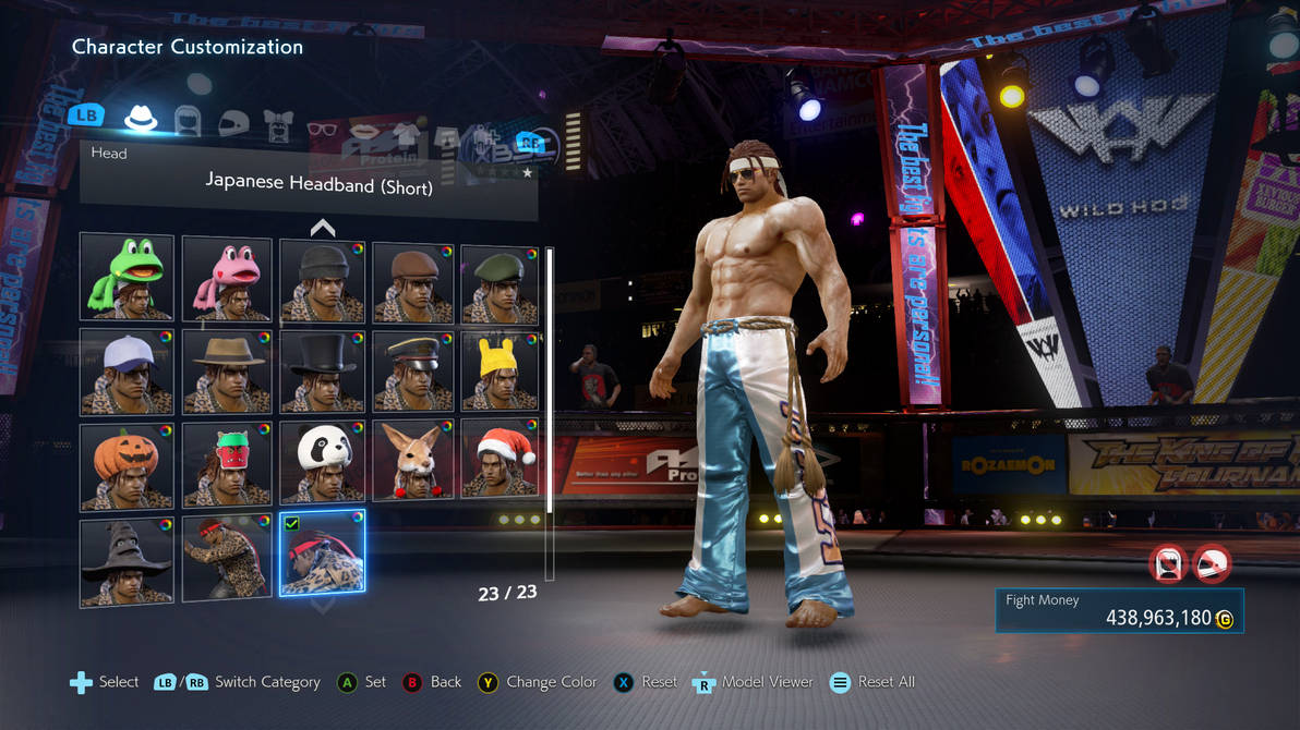 TEKKEN 7 [PC] Customization Screen - Arena by GODLIKE99KINGZ on