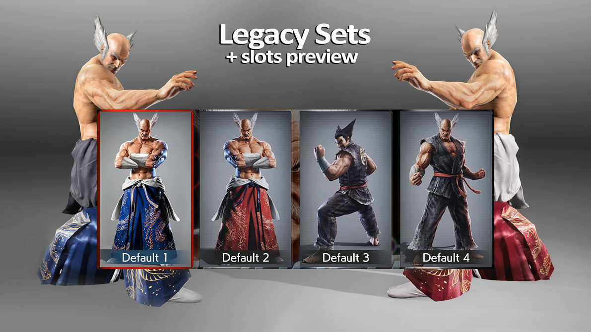 tekken 7 pc legacy costume online heihachi by godlike99kingz on deviantart tekken 7 pc legacy costume online