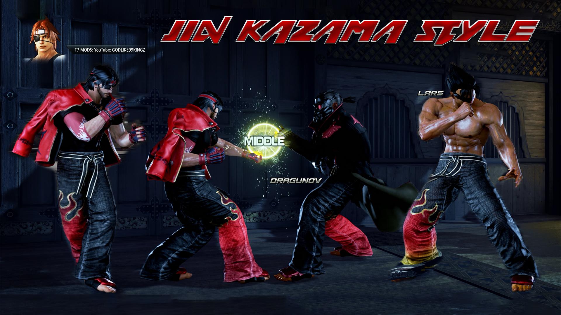 Tekken 7 Pc Character Jin Kazama Style Pack By Godlike99kingz On Deviantart