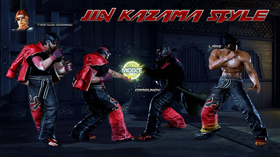 Tekken 7 Pc Character Jin Kazama Style Pack By Godlike99kingz