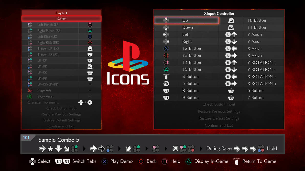 TEKKEN 7 - PLAYSTATION Icons by GODLIKE99KINGZ on DeviantArt