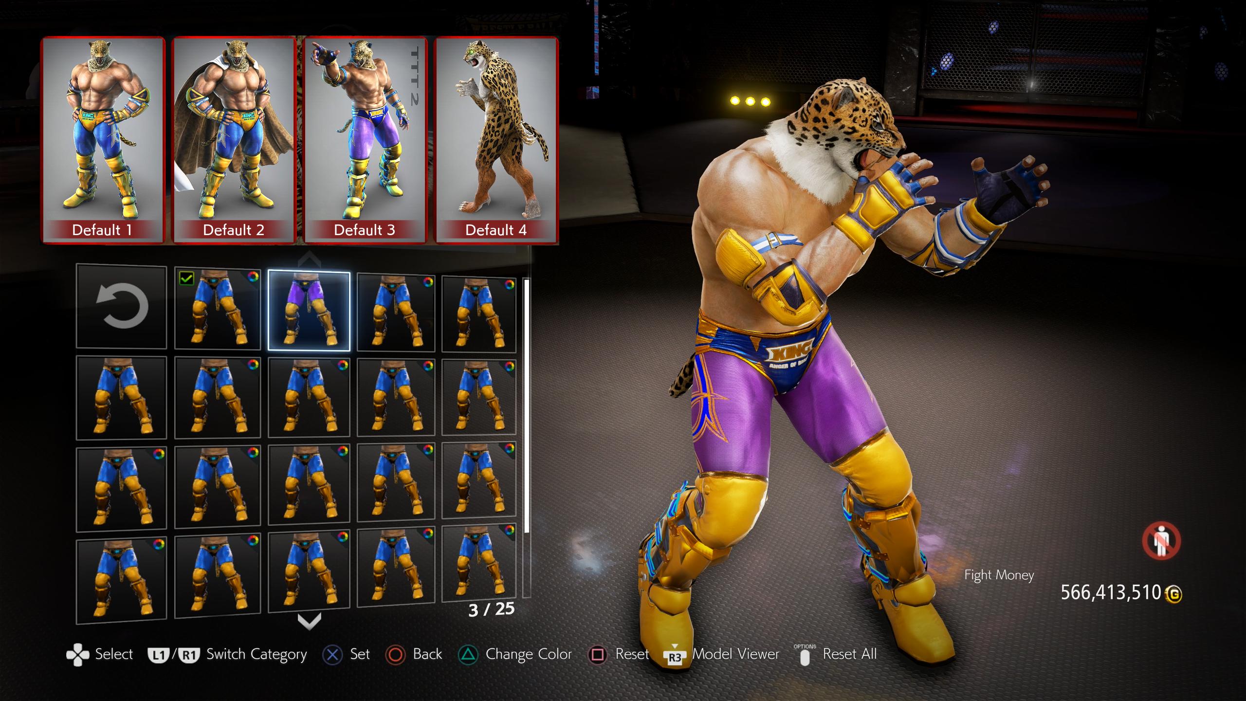 tekken 3 king costume