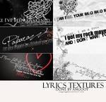 Lyrics Textures