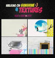 walking on sunshine. textures by ANGOOY