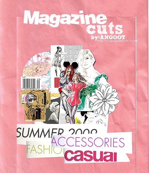 Magazine Cuts by ANGOOY