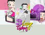 3 Betty Boop textures  XD